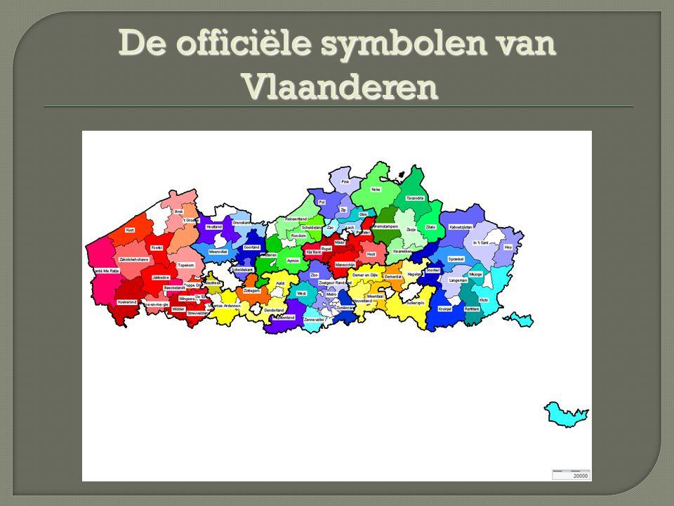 De officiële symbolen van Vlaanderen