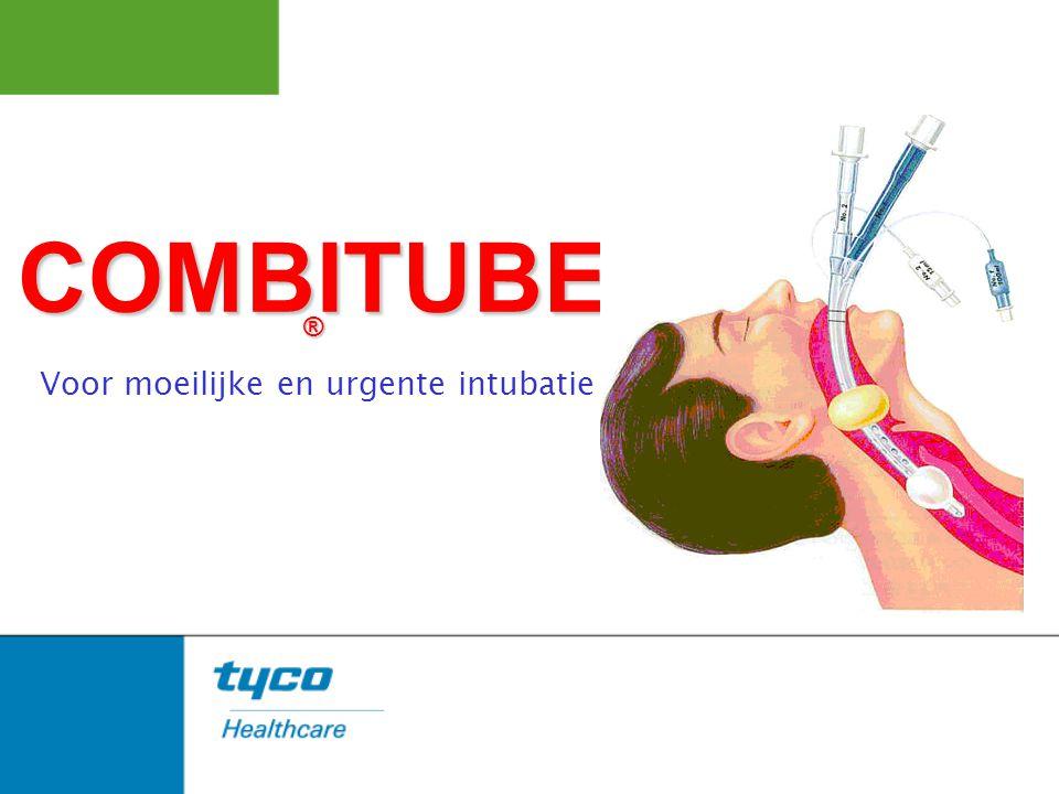 COMBITUBE ® Voor moeilijke en urgente intubatie