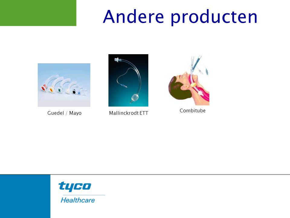 Andere producten Mallinckrodt ETT Combitube Guedel / Mayo