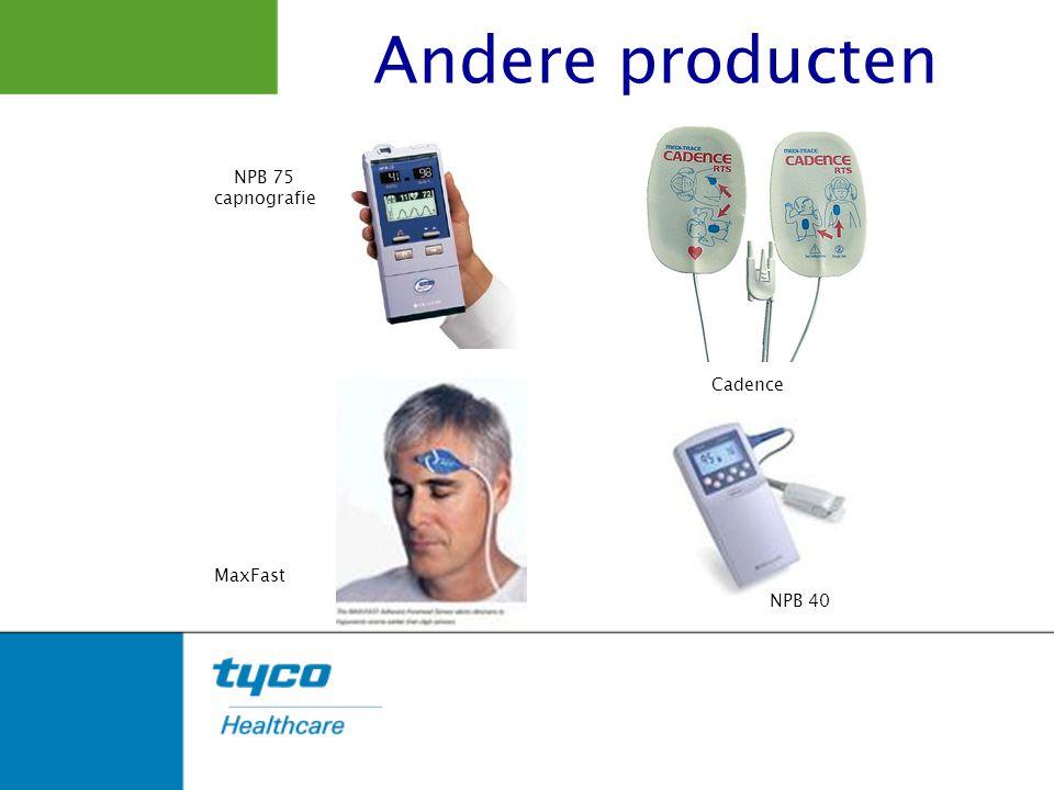 Andere producten NPB 75 capnografie Cadence MaxFast NPB 40