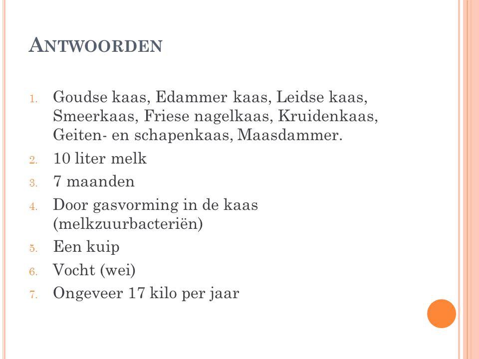 A NTWOORDEN 1.