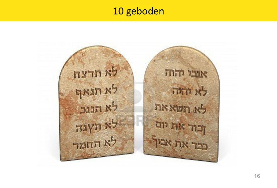 10 geboden 16