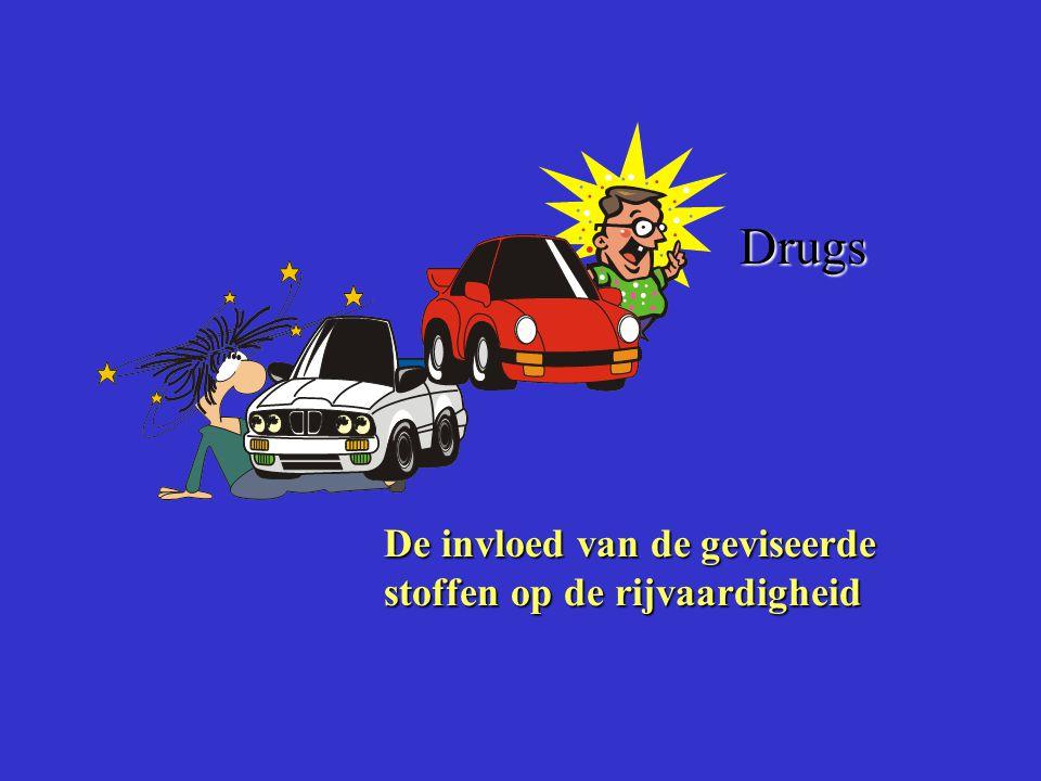De invloed van de geviseerde stoffen op de rijvaardigheid Drugs