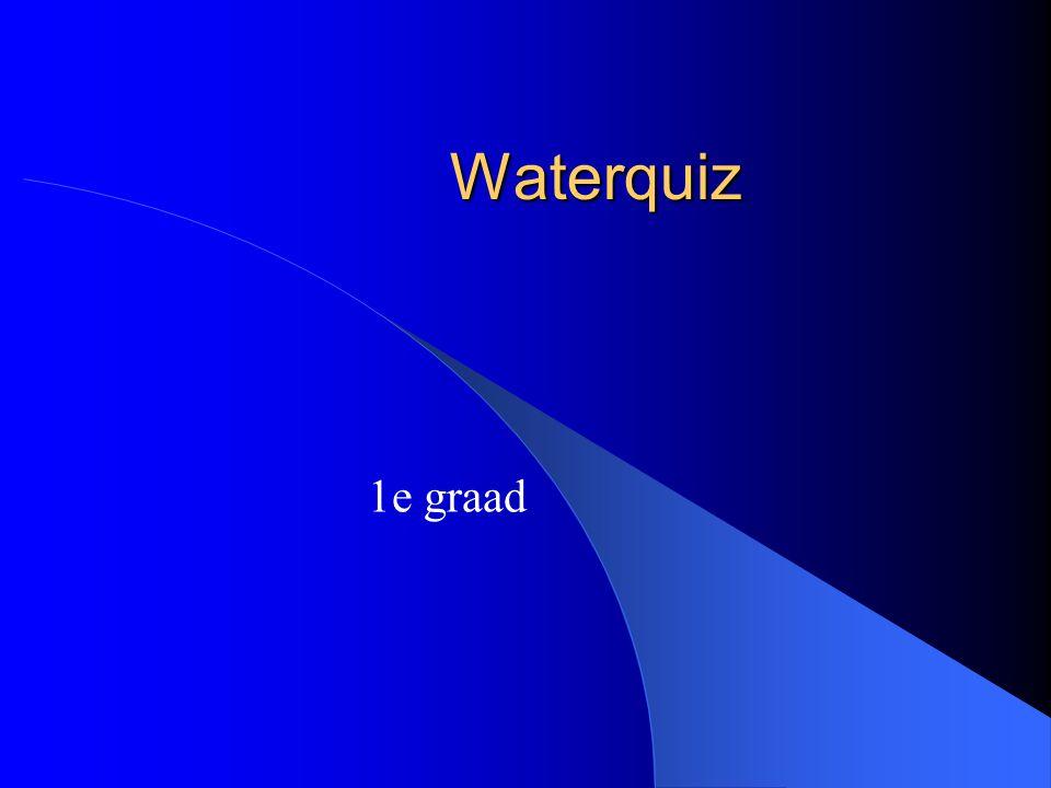 Waterquiz 1e graad
