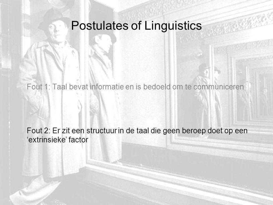 Verschuiving of deterritorialisering 1.Lichamelijke modificaties= geformaliseerd in content 2.Niet-lichamelijke transformatie= geformaliseerd in expression Louis Hjelmslev (commentaar op de Saussure)= zowel content als expression hebben een vorm.