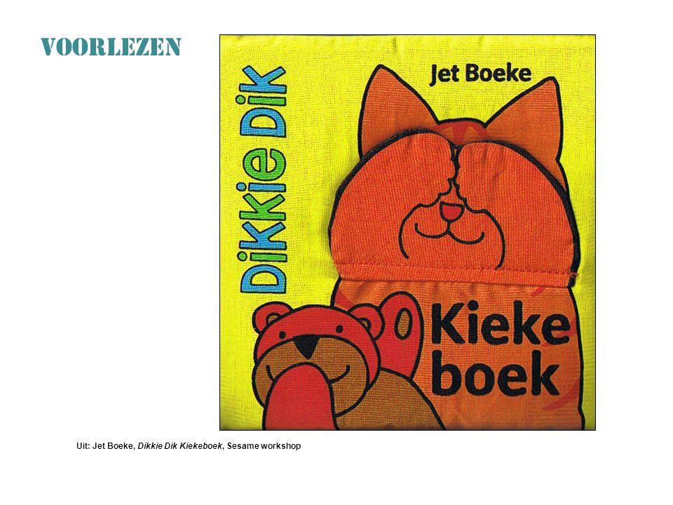 VOORLEZEN: Durven en Doen Uit: Jet Boeke, Dikkie Dik Kiekeboek, Sesame workshop