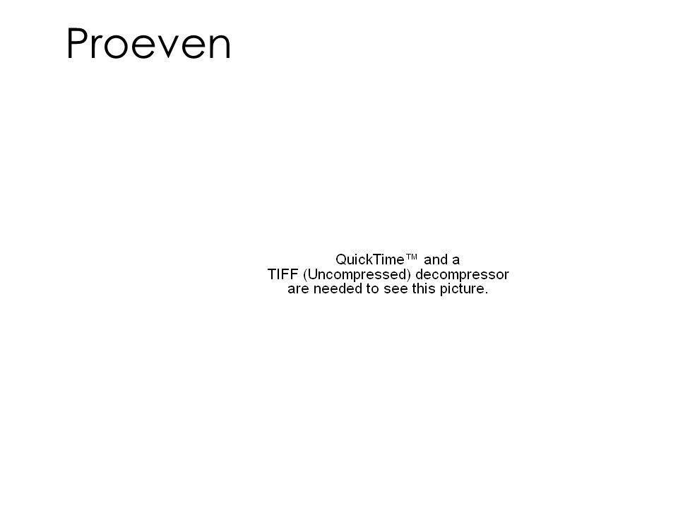 Proeven
