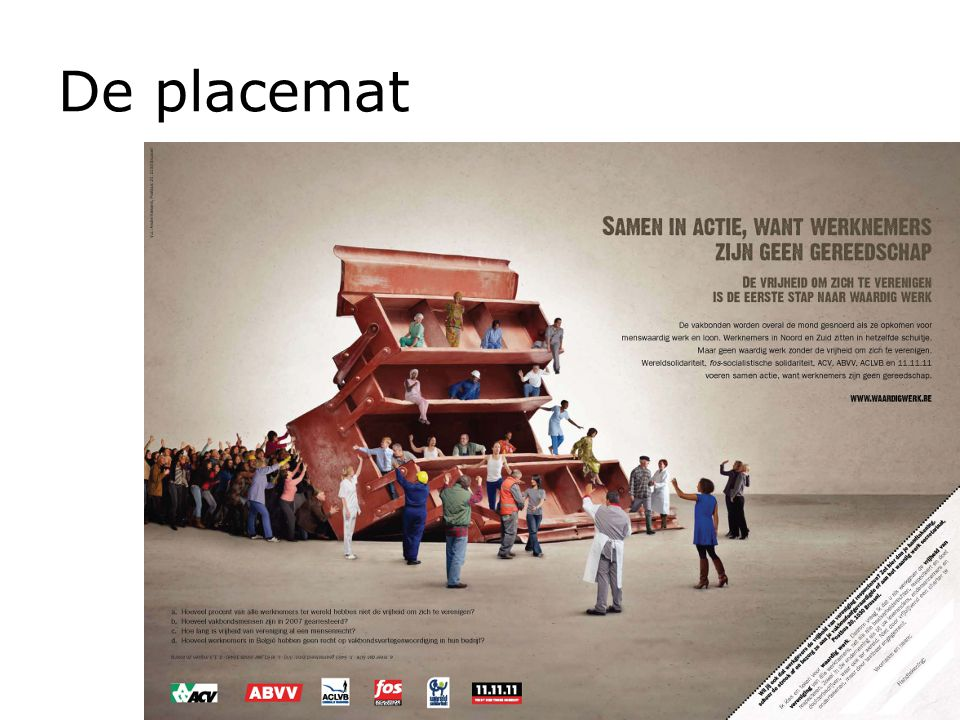 De placemat