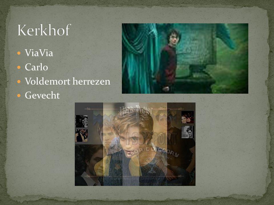 ViaVia Carlo Voldemort herrezen Gevecht