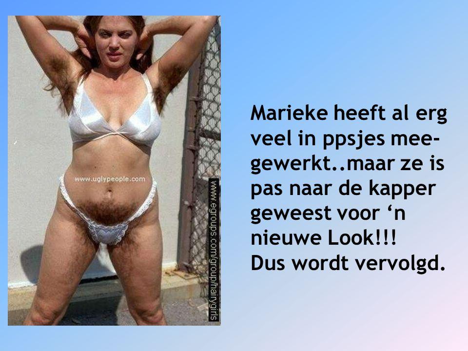 Marieke heeft al erg veel in ppsjes mee- gewerkt..maar ze is pas naar de kapper geweest voor 'n nieuwe Look!!! Dus wordt vervolgd.