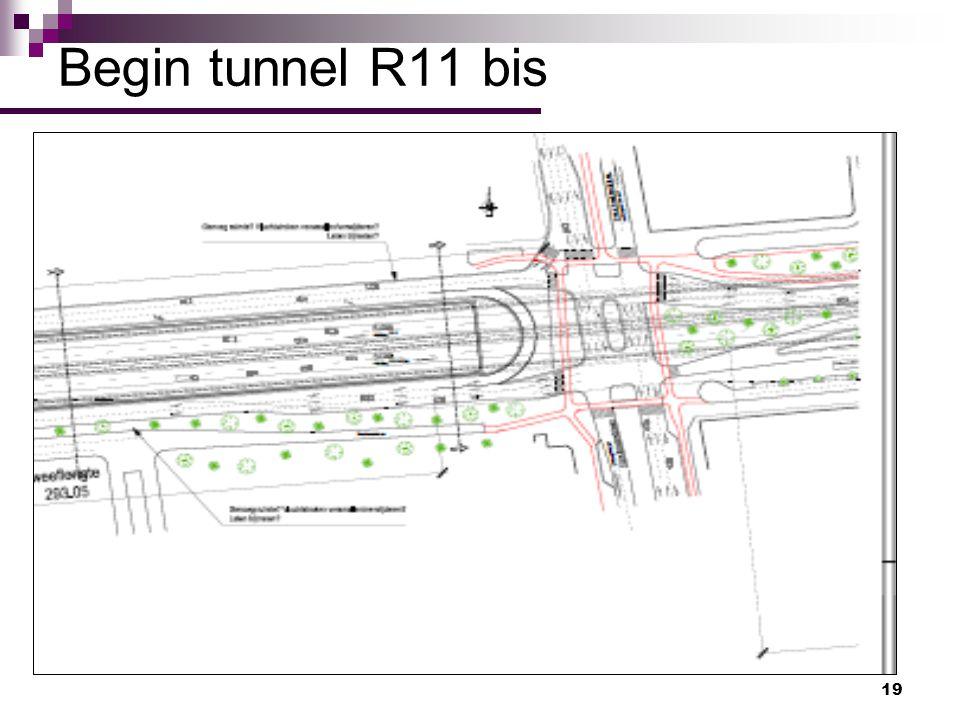 19 Begin tunnel R11 bis