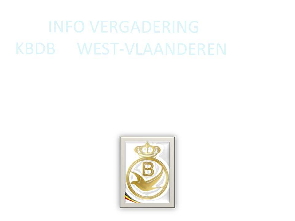 Info vergadering KBDB West-Vlaanderen de diverse bijdragen 2015