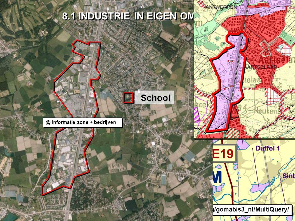 Meridiaan 2B Aartselaar-Oost-Zuid (A0101) Oppervlakte: 26,1 ha Infrastructuur: gas, hoogspanning, riolering, telecommunicatielijnen Aartselaar-West-noord (A0103) Oppervlakte: 80,1 ha Infrastructuur: gas, hoogspanning, riolering, telecommunicatielijnen Aartselaar-West-Zuid (A0104) Oppervlakte: 3,9 ha Infrastructuur: gas, hoogspanning, riolering, telecommunicatielijnen Wilrijk-Atomiumlaan (A0218) Oppervlakte: 73,5 ha Infrastructuur: industriële riolering, riolering, telecommunicatielijnen, waterzuiveringsinstallatie Gemeenten: Wilrijk-Neerland (A0217) Oppervlakte: 4,1 ha Infrastructuur: industriële riolering, riolering, telecommunicatielijnen, waterzuiveringsinstallatie Gemeenten: Aartselaar, Antwerpen In de gemeente Aartselaar vind je negen bedrijventerreinen, die geheel of gedeeltelijk op het grondgebied van de gemeente liggen.