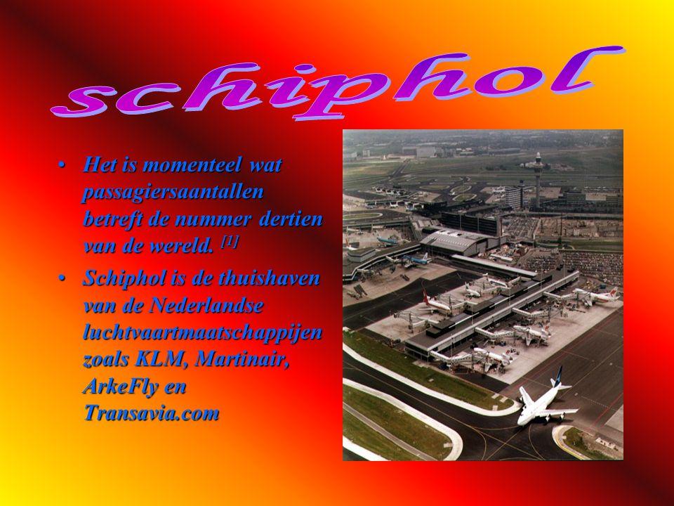 Schiphol of Luchthaven Schiphol (in het Engels Schiphol Airport, Amsterdam Airport of Amsterdam Airport Schiphol genoemd), is de grootste Nederlandse