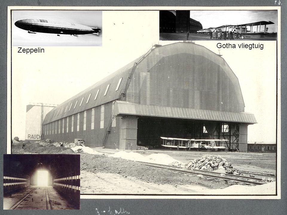 Foto's genomen in WO1 op de luchthaven te Gontrode