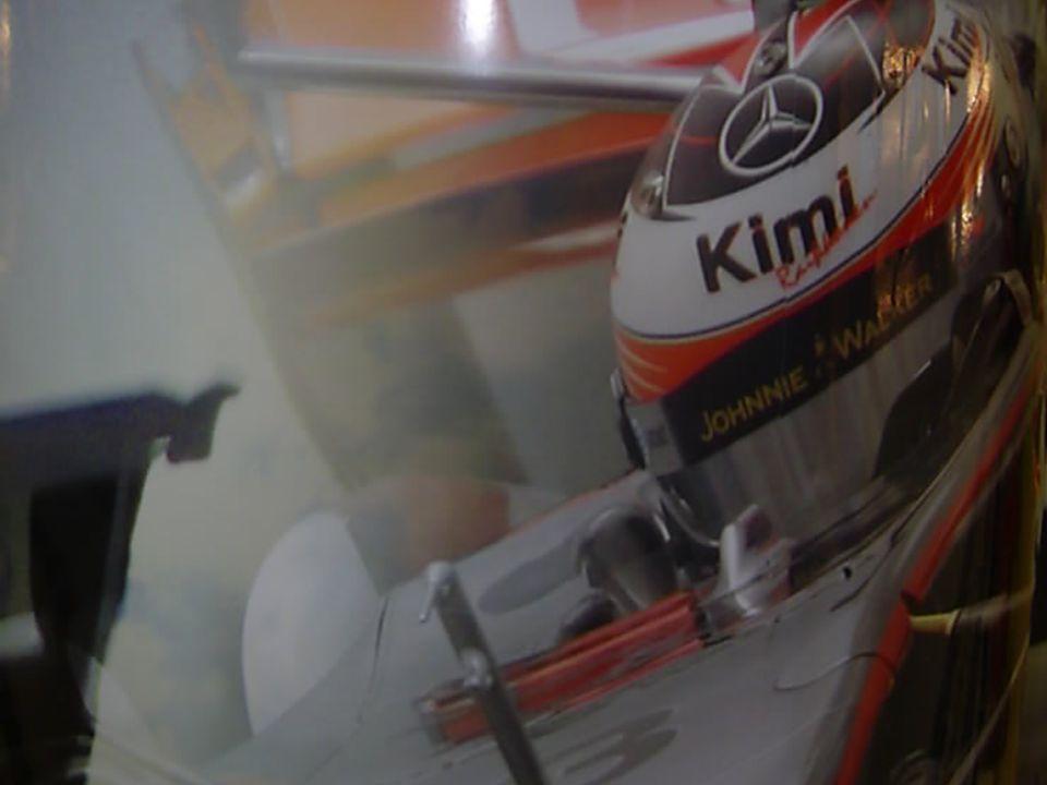 Kimi Raikkonen De nieuwe held voor de arabieren.