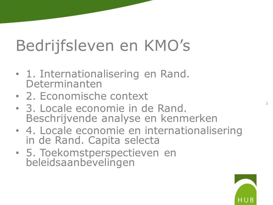 3.Locale economie Rand 3.1. Open markt Zijn er verschillen tussen Brussel end e Rand.