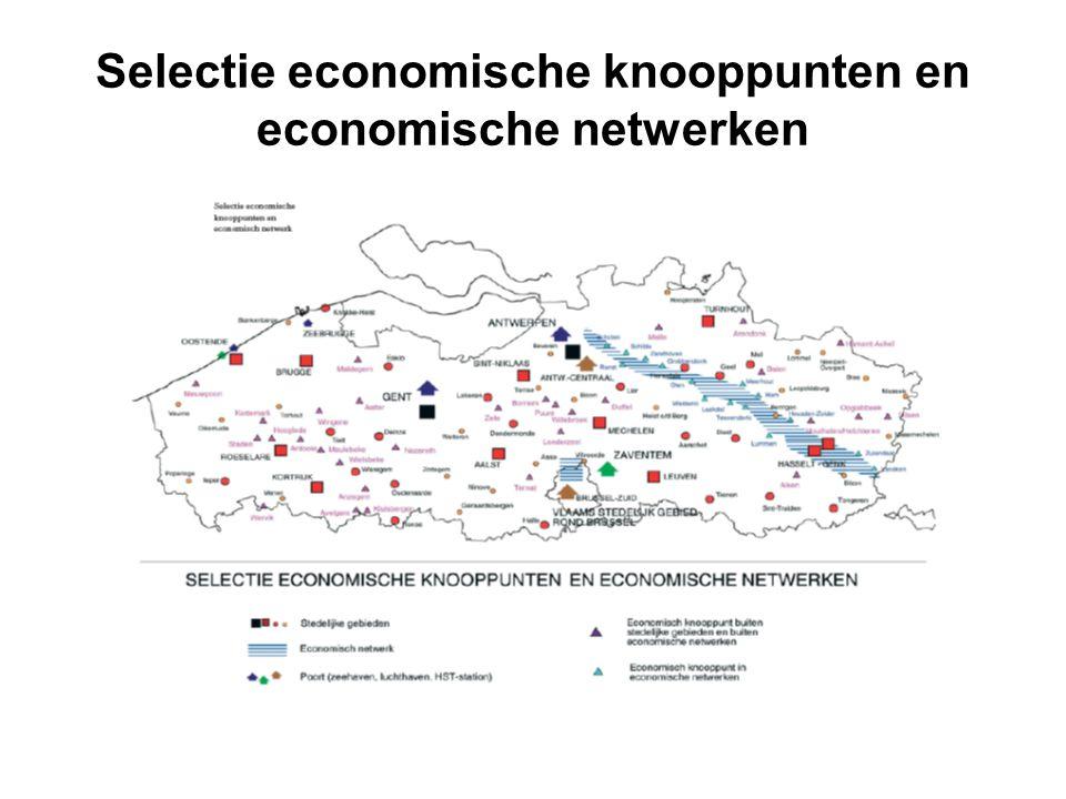 Selectie economische knooppunten en economische netwerken
