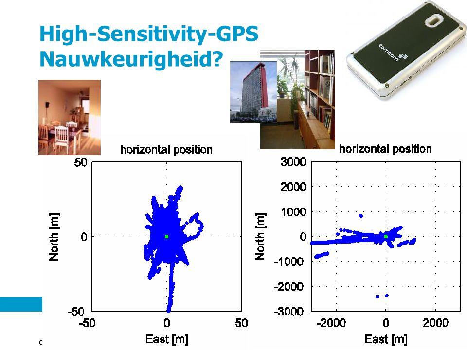 Onderzoeksinstituut OTB 13 High-Sensitivity-GPS Nauwkeurigheid?