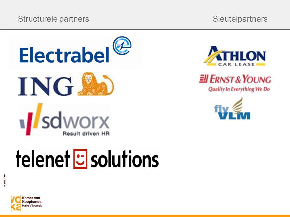 Voka titel 33 Structurele partnersSleutelpartners