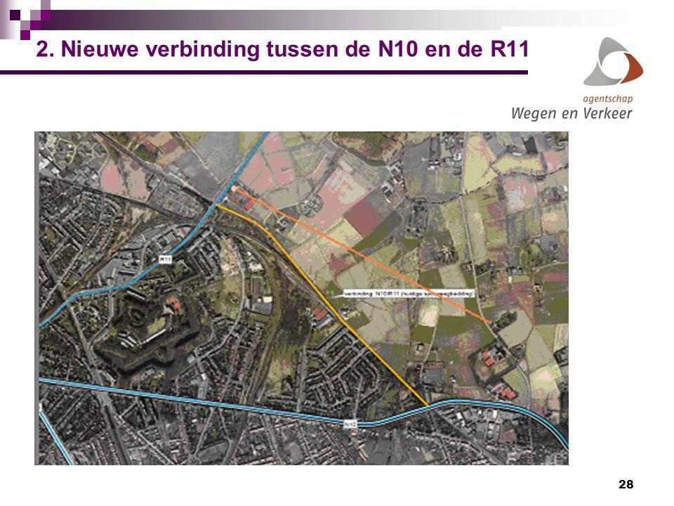 28 2. Nieuwe verbinding tussen de N10 en de R11