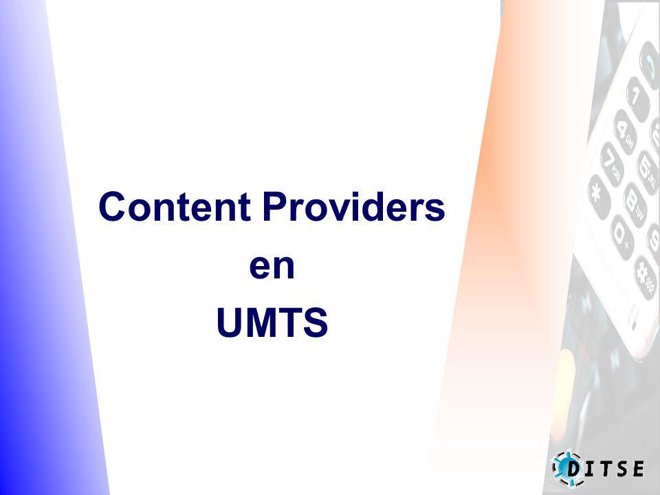Content Providers en UMTS