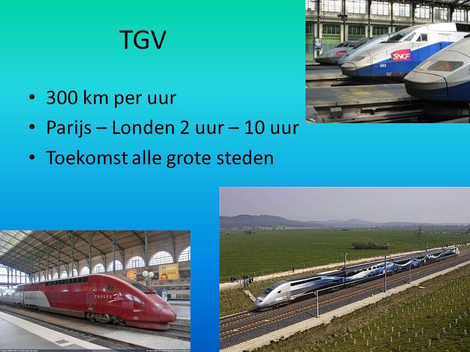 De kanaaltunnel 40 km breed 1986 – 1994 15 minuten, 200 auto's & 2000 passagiers De reis duurt een half uur
