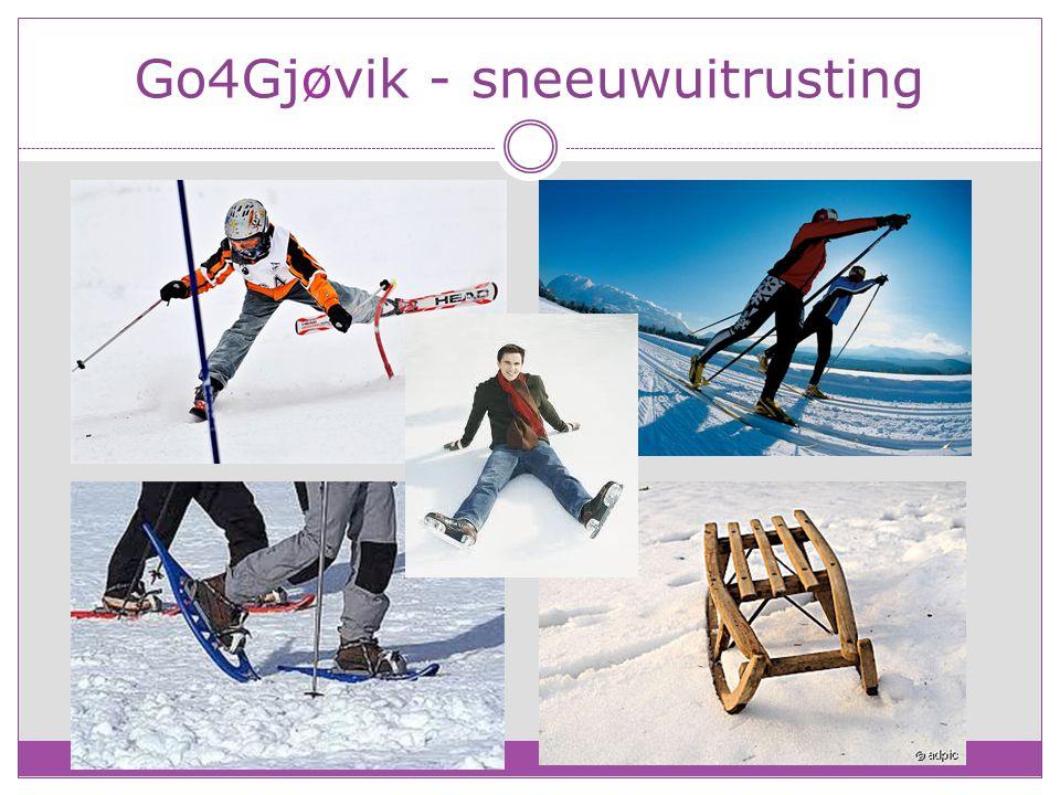 Go4Gjøvik - sneeuwuitrusting