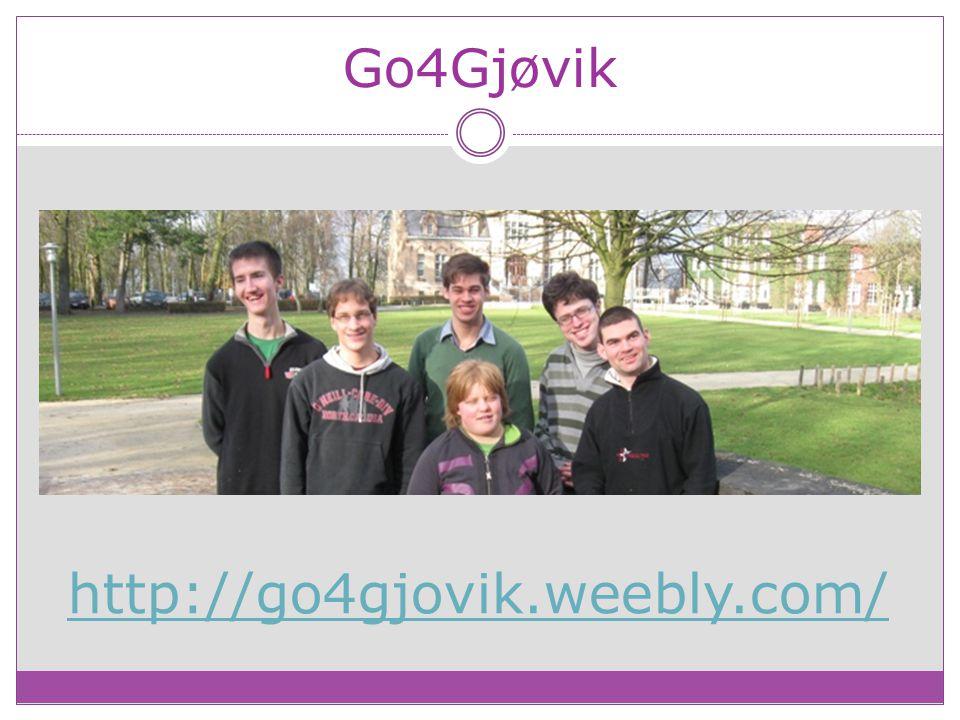Go4Gjøvik http://go4gjovik.weebly.com/