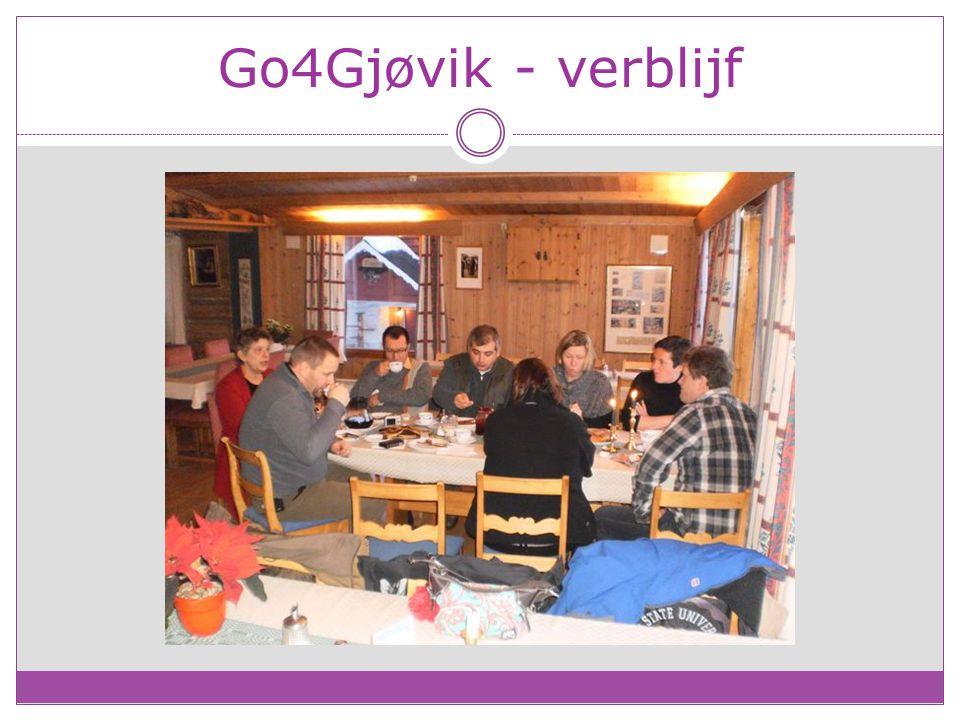 Go4Gjøvik - verblijf