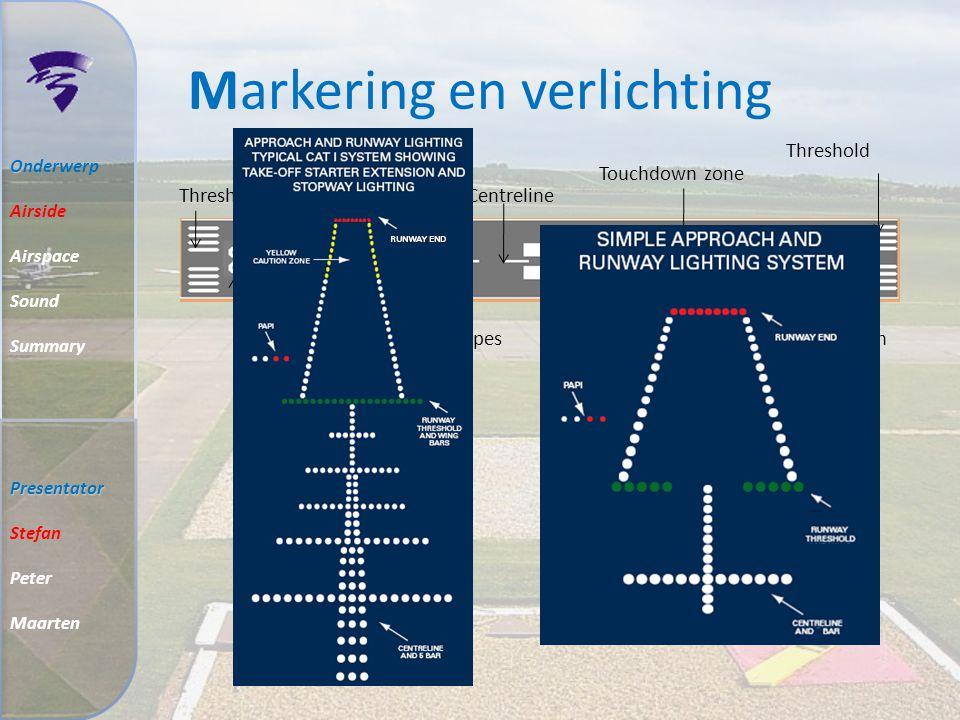 Baan breedte Code 2B : 23 m ILS : 30 m Soort runway: Baan 23 is precision approach runway Baan 05 is non-precision approach runway O Onderwerp Airside