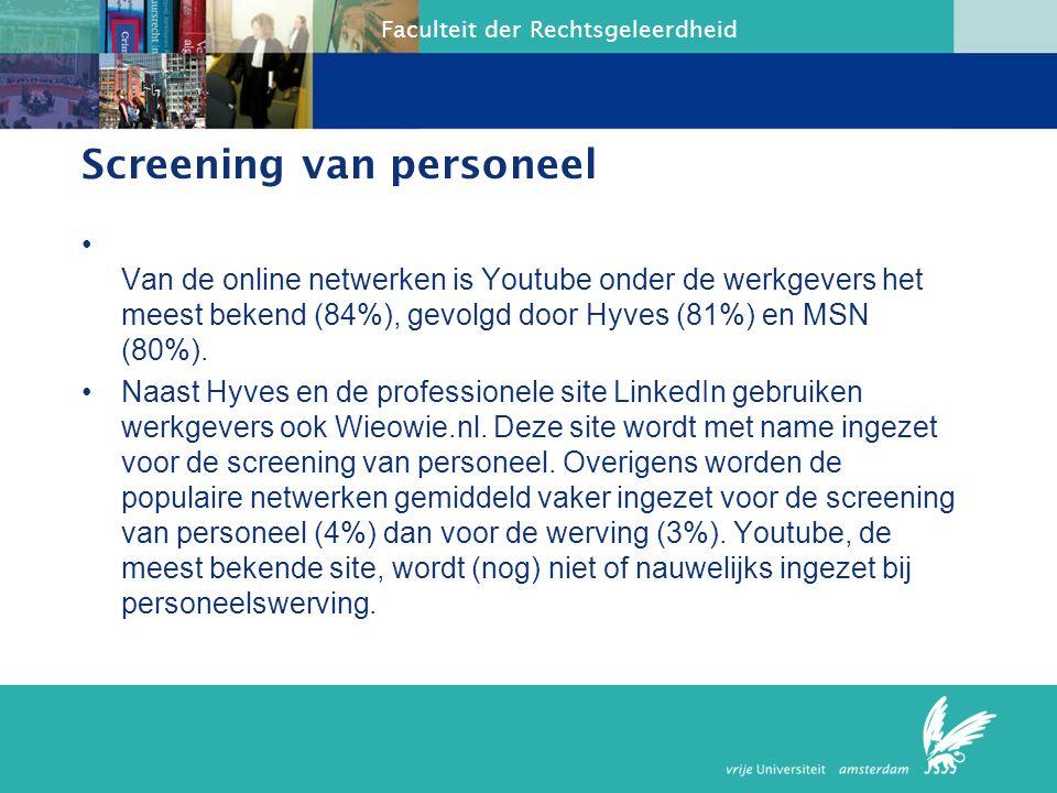 Faculteit der Rechtsgeleerdheid Camera op het werk Indien geen andere middelen Slapen Een voorbeeld is dat van werknemers van de storingsdienst van Schiphol.