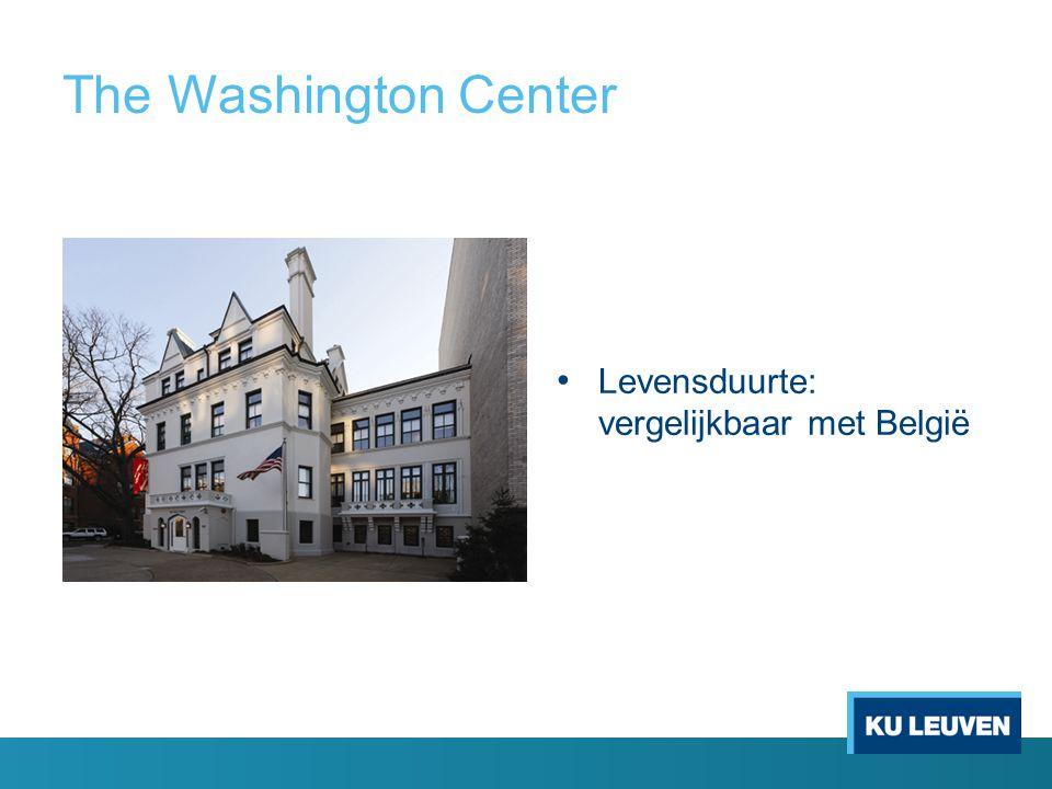The Washington Center Levensduurte: vergelijkbaar met België