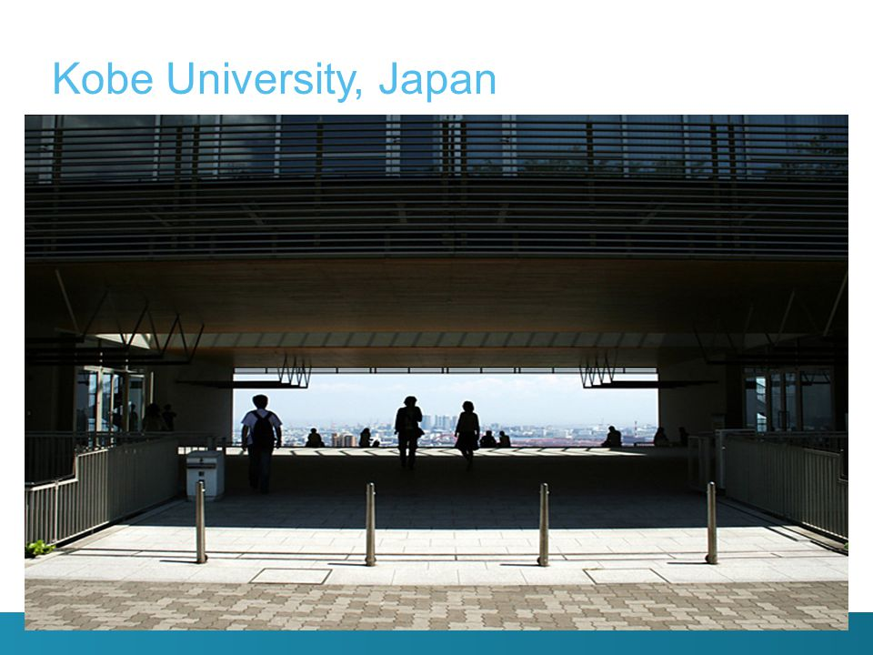 Een greep uit het Engelstalige vakkenaanbod: o Comparative economic history o Industrial and Social Policy o Culture and Society in Japan o Japanese Politics o International Human Rights Law o Issues in Peace and Development o Economic Development Studies o Public Policy Studies vooral gericht op economie/politiek Kobe University, Bibliotheek Sociale Wetenschappen