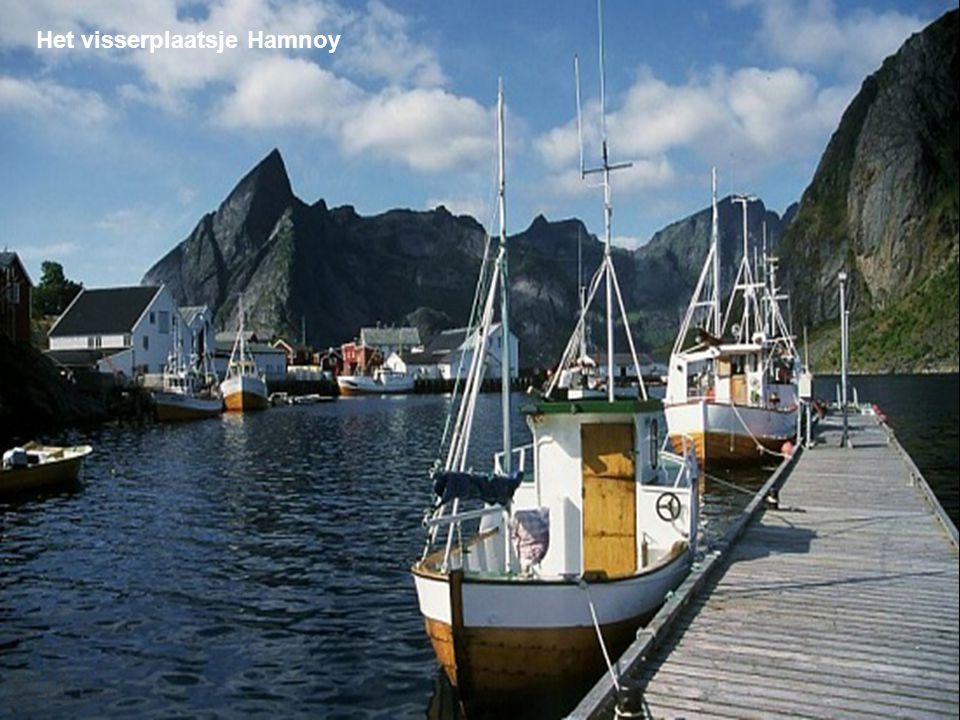 Het visserplaatsje Hamnoy