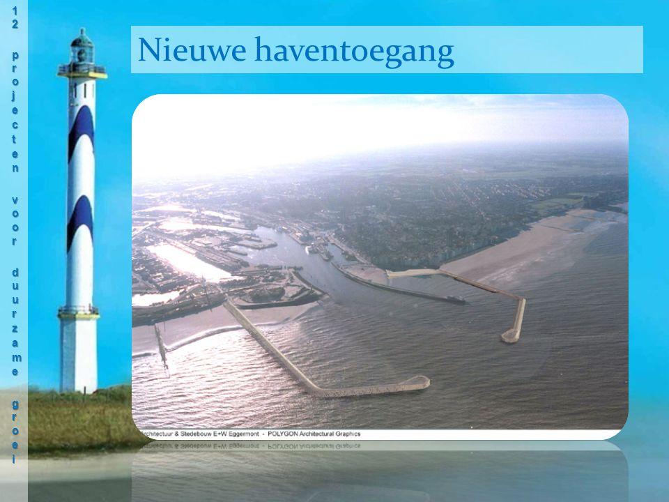 Nieuwe haventoegang