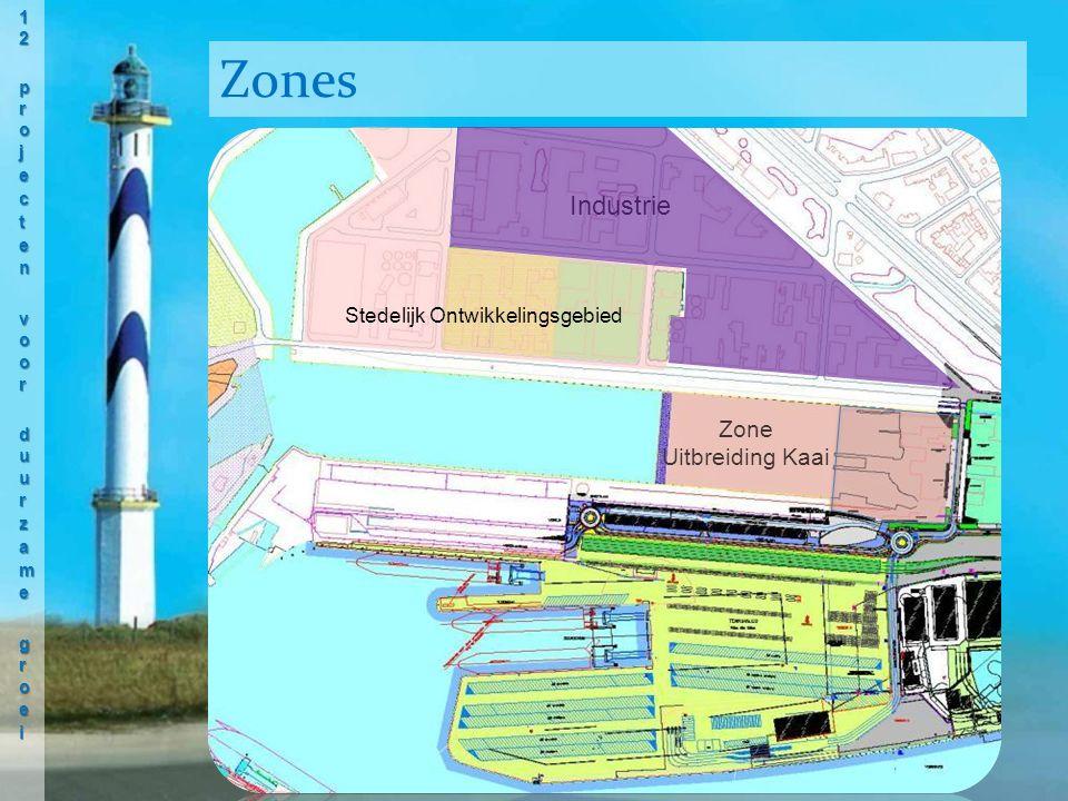 Zones Zone Uitbreiding Kaai Stedelijk Ontwikkelingsgebied Industrie