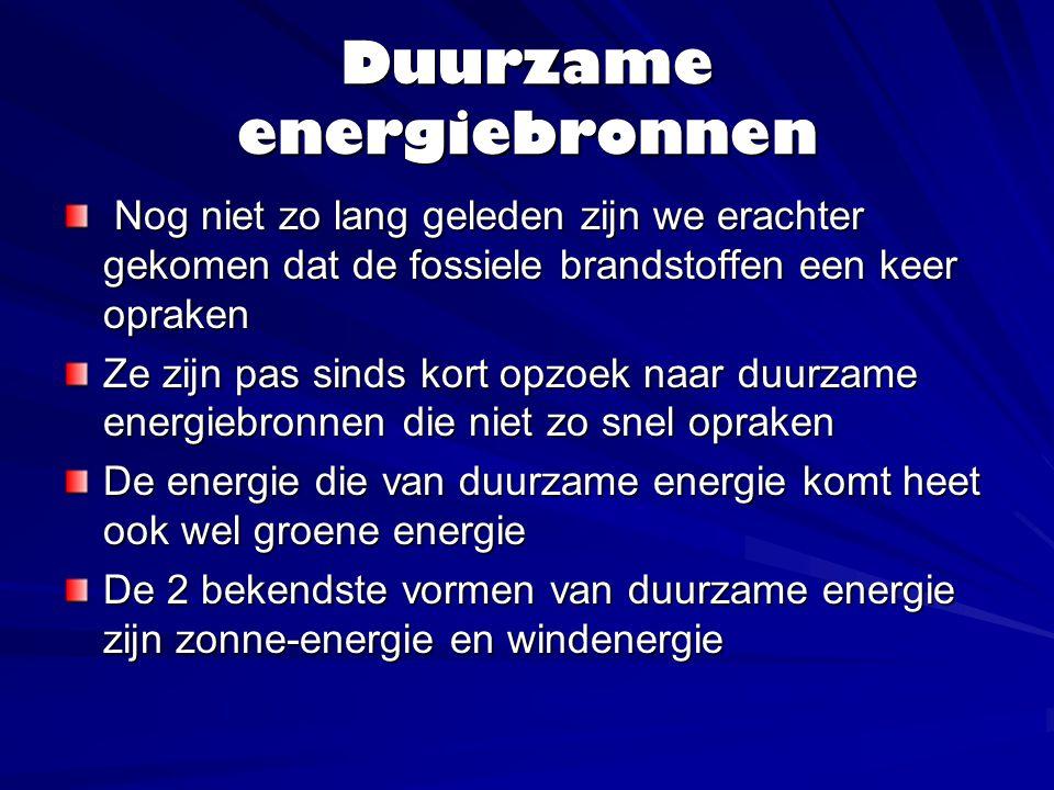 Wat is zonne-energie, windenergie Zon en wind zijn heel duurzame energiebronnen ze zijn er bijna altijd.