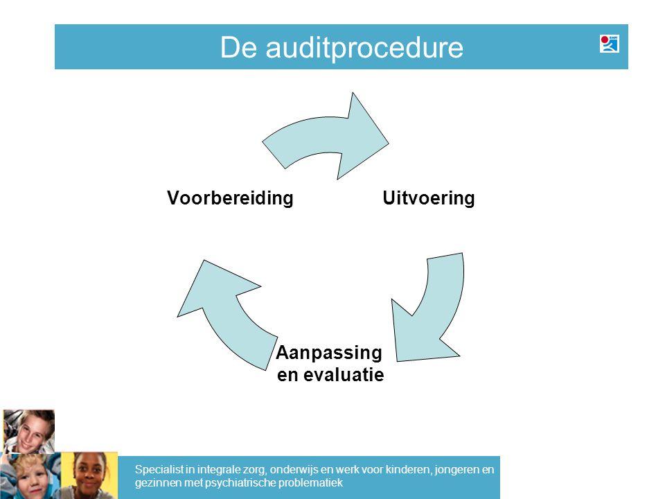 De auditprocedure Specialist in integrale zorg, onderwijs en werk voor kinderen, jongeren en gezinnen met psychiatrische problematiek
