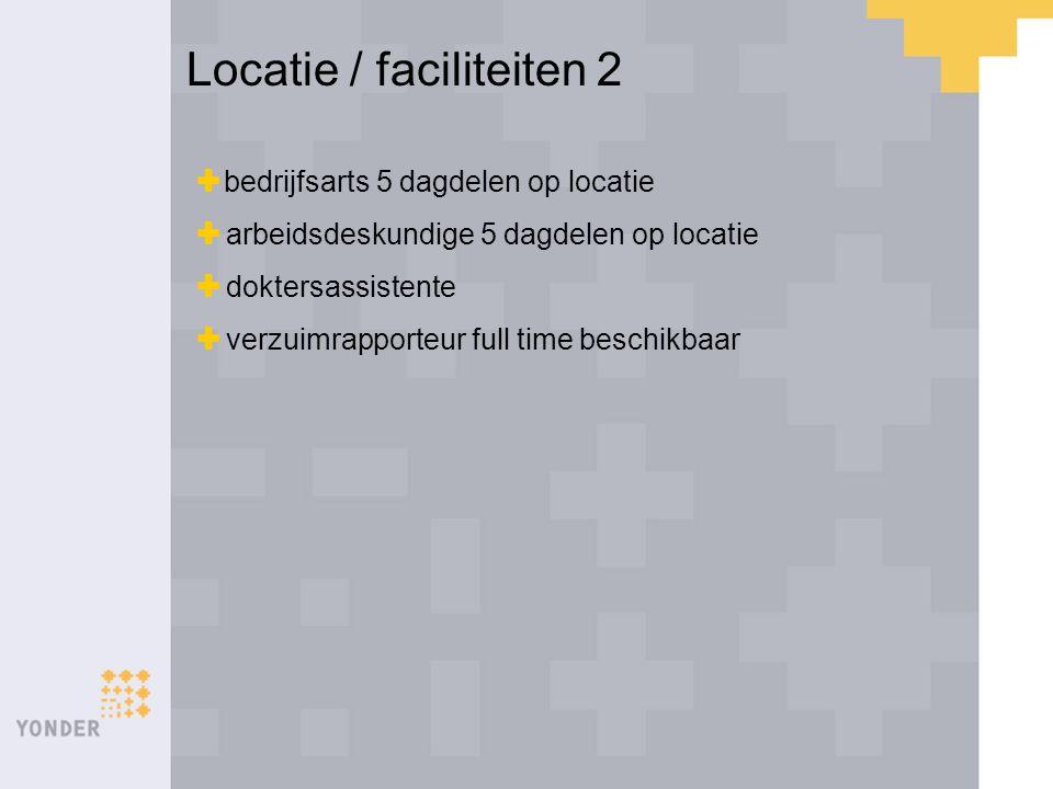  bedrijfsarts 5 dagdelen op locatie  arbeidsdeskundige 5 dagdelen op locatie  doktersassistente  verzuimrapporteur full time beschikbaar Locatie /