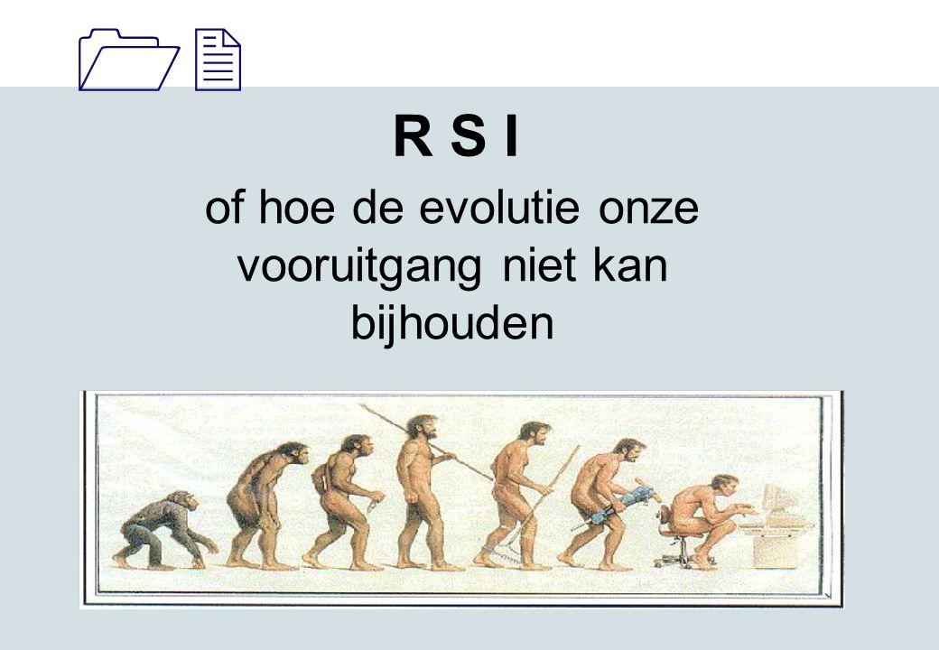 11 of hoe de evolutie onze vooruitgang niet kan bijhouden R S I