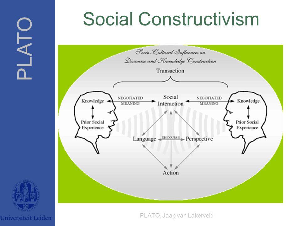 PLATO PLATO, Jaap van Lakerveld Social Constructivism