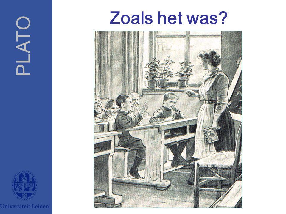 PLATO PLATO, Jaap van LakerveldPLATO Universiteit Leiden Zoals het was?