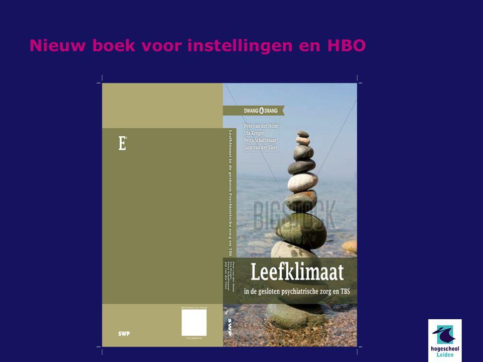 Nieuw boek voor instellingen en HBO