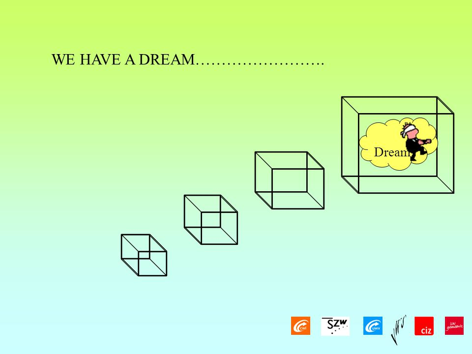 WE HAVE A DREAM……………………. Dream