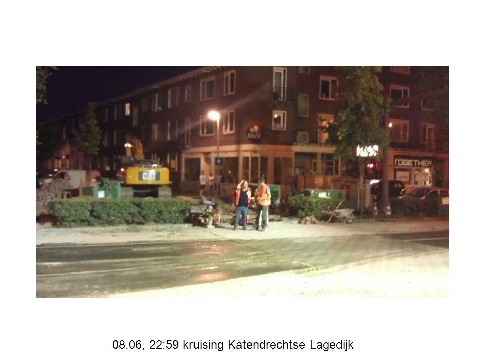 08.06, 22:59 kruising Katendrechtse Lagedijk