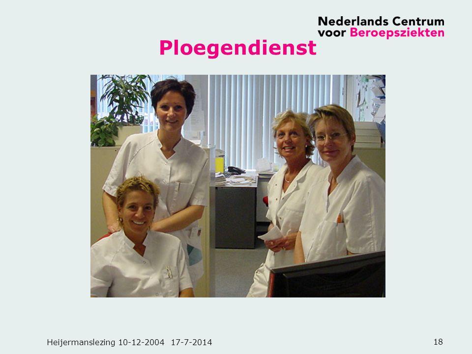 Heijermanslezing 10-12-2004 17-7-201418 Ploegendienst