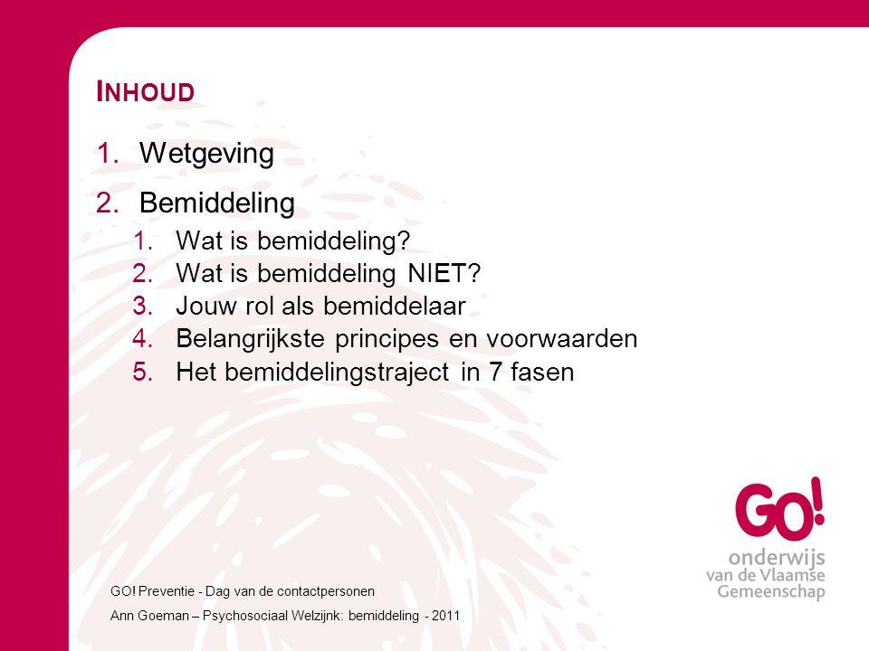 welzijn werkt 1.W AT IS BEMIDDELING .