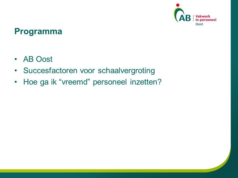 Werkgebied AB Oost Drenthe Flevoland Overijssel Gelderland