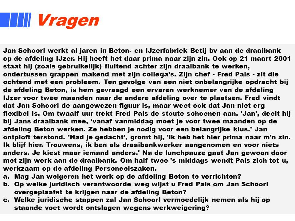 8 Vragen Jan Schoorl werkt al jaren in Beton- en IJzerfabriek Betij bv aan de draaibank op de afdeling IJzer. Hij heeft het daar prima naar zijn zin.